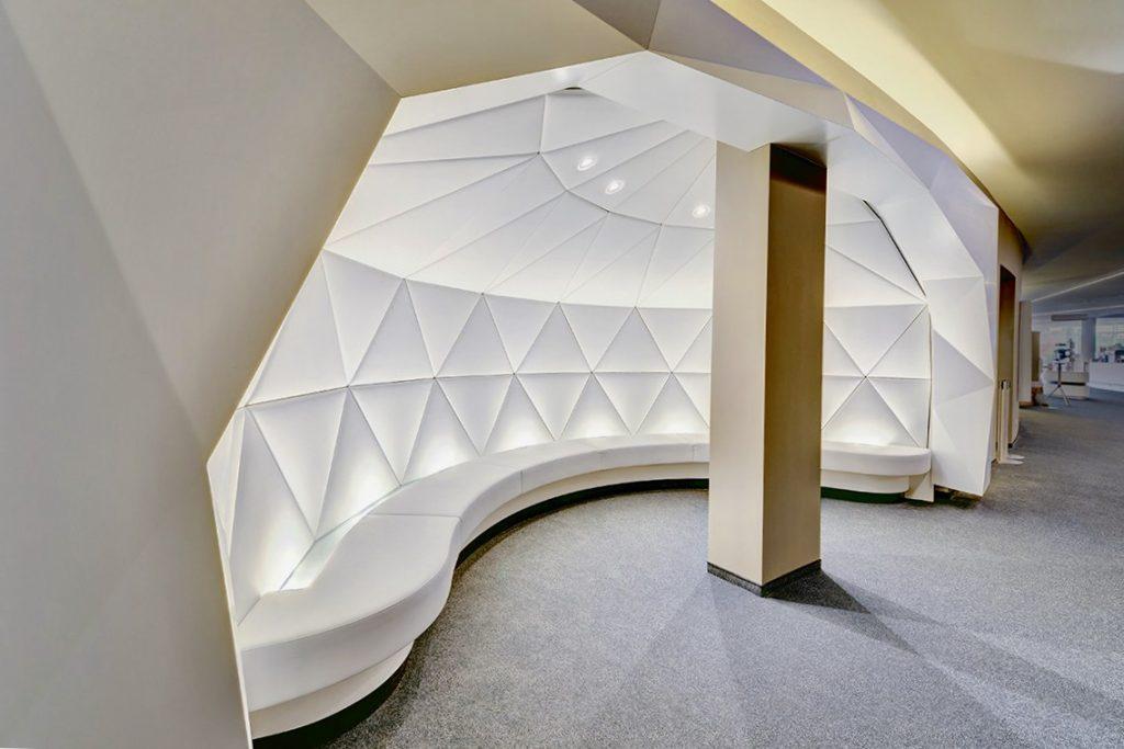 Polster- und Bezugsarbeiten für Kino Cineplex in Baden-Baden