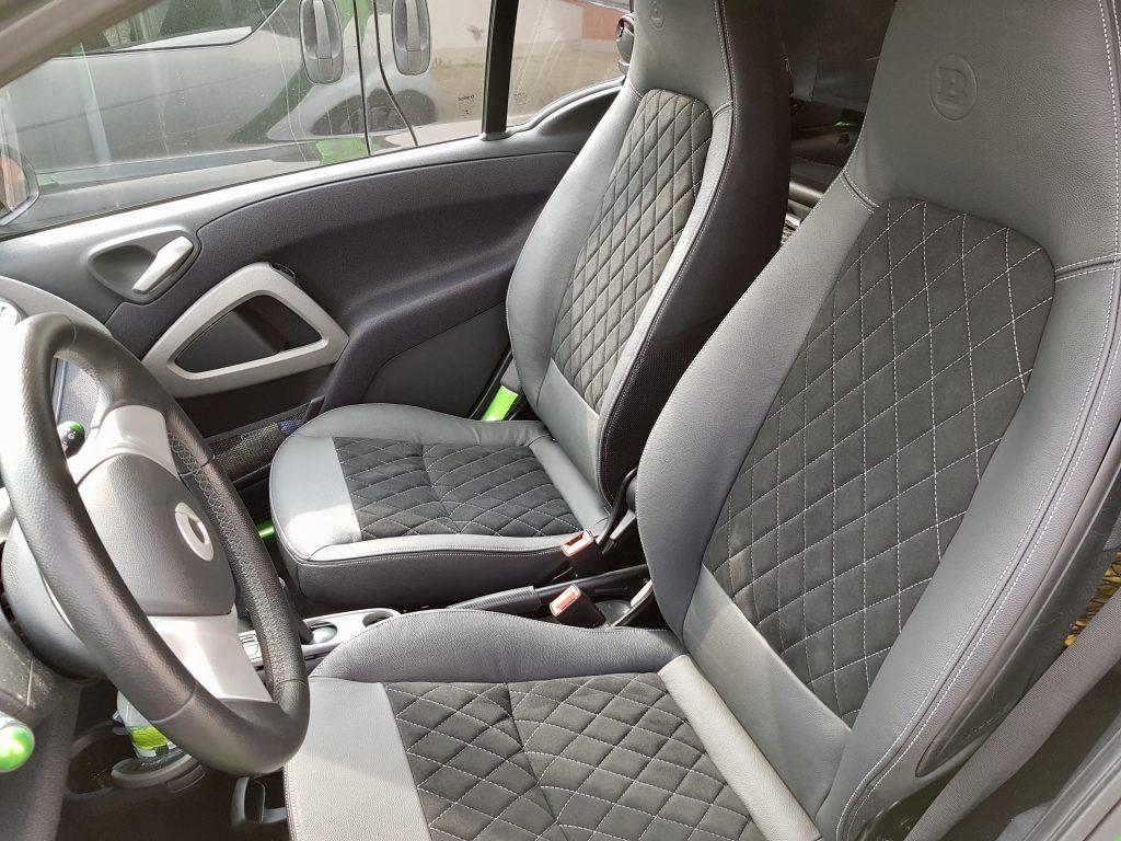 Autoveredelung Smart Elektrofahrzeug